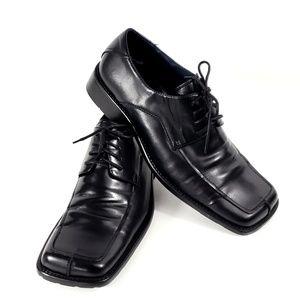 Steve Madden Exel Mens Black Oxford Size 11 #S137